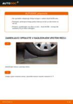Vgraditi Kolesni lezaj AUDI A4 (8E2, B6) - priročniki po korakih