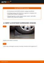Elülső kerékcsapágy-csere Audi A4 B6 gépkocsin – Útmutató