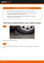 Manuel en ligne pour changer vous-même de Jeu de roulements de roue sur AUDI A4 (8E2, B6)
