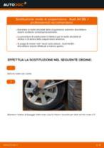 Come cambiare molle di sospensione della parte anteriore su Audi A4 B6 - Guida alla sostituzione