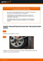 Πώς να αλλάξετε ελατήρια ανάρτησης εμπρός σε Audi A4 B6 - Οδηγίες αντικατάστασης