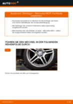Wie Mercedes W211 Domlager vorne wechseln - Anleitung