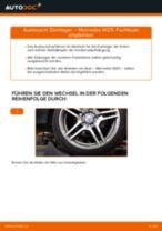 Domlager vorne selber wechseln: Mercedes W211 - Austauschanleitung
