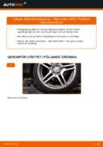 Byta fjäderbenslagring fram på Mercedes W211 – utbytesguide
