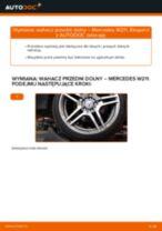 Jak wymienić wahacz przedni dolny w Mercedes W211 - poradnik naprawy