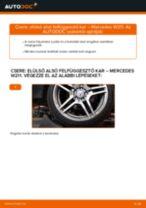 Autószerelői ajánlások - Mercedes W211 E 270 CDI 2.7 (211.016) Lengőkar cseréje
