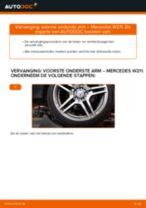 Hoe voorste onderste arm vervangen bij een Mercedes W211 – Leidraad voor bij het vervangen