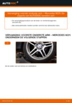 Ruitenwisserbladen veranderen MERCEDES-BENZ E-CLASS: gratis pdf