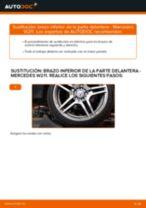 Cómo cambiar: brazo inferior de la parte delantera - Mercedes W211 | Guía de sustitución