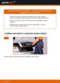 Jak provést výměnu: Brzdové Destičky na 1.9 TDI Audi A4 b6