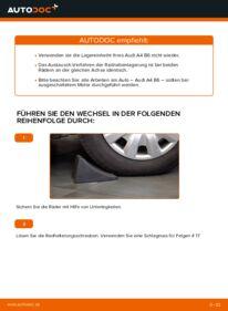Wie der Wechsel durchführt wird: Radlager 1.9 TDI Audi A4 b6 tauschen