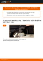Tipps von Automechanikern zum Wechsel von MERCEDES-BENZ Mercedes W210 E 220 CDI 2.2 (210.006) Bremssattel