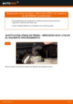 Cómo cambiar: pinza de freno de la parte trasera - Mercedes W211 | Guía de sustitución