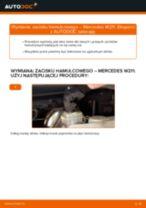 Jak wymienić zacisku hamulcowego tył w Mercedes W211 - poradnik naprawy