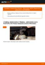 Doporučení od automechaniků k výměně MERCEDES-BENZ Mercedes W211 E 270 CDI 2.7 (211.016) Brzdovy kotouc