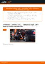 Jak wymienić łożysko koła tył w Mercedes W211 - poradnik naprawy