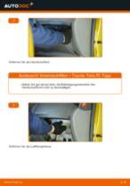Hinweise des Automechanikers zum Wechseln von TOYOTA Toyota Yaris p1 1.4 D-4D (NLP10_) Luftfilter