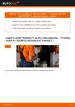 Öljynsuodatin vaihto: TOYOTA YARIS pdf oppaat