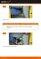 części zamienne TOYOTA Yaris Hatchback (_P1_) | PDF Poradnik do naprawy
