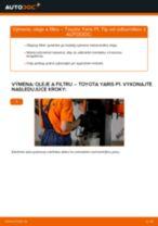 Výmena Olejový filter TOYOTA YARIS: online návod