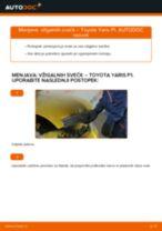 Avtomehanična priporočil za zamenjavo TOYOTA Toyota Yaris p1 1.4 D-4D (NLP10_) Zaznavalo lamda