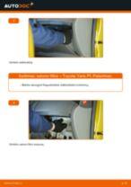 Kaip pakeisti Toyota Yaris P1 salono filtro - keitimo instrukcija