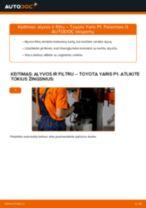 Automechanikų rekomendacijos TOYOTA Toyota Yaris p1 1.4 D-4D (NLP10_) Uždegimo žvakė keitimui