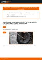 Manualul online pentru schimbarea Bieleta bara stabilizatoare la TOYOTA YARIS (SCP1_, NLP1_, NCP1_)