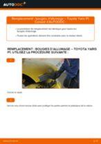 Changement Étrier De Frein arrière + avant TOYOTA YARIS (SCP1_, NLP1_, NCP1_) : guide pdf