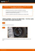 Comment changer : rotule de rirection sur Toyota Yaris P1 - Guide de remplacement