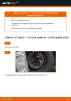 Byta styrled på Toyota Yaris P1 – utbytesguide