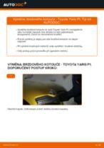 Doporučení od automechaniků k výměně TOYOTA Toyota Yaris p1 1.4 D-4D (NLP10_) Brzdové Destičky