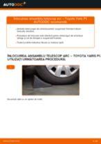 Montare Kit amortizoare TOYOTA YARIS (SCP1_, NLP1_, NCP1_) - tutoriale pas cu pas