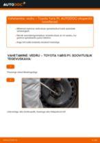 VOLVO V70 III Kasten / Kombi (135) vahetada Piduriklotside komplekt eesmine ja tagumine: käsiraamatute pdf