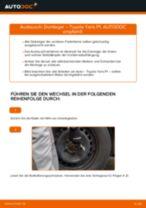 Wie Intercooler TOYOTA YARIS tauschen und einstellen: PDF-Tutorial