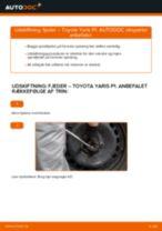 Udskiftning af Bagbrosbøsning Seat Ibiza GP01: manual pdf
