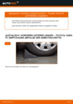 Auswechseln Rbz TOYOTA YARIS: PDF kostenlos
