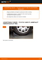 TOYOTA-reparationsmanualer med illustrationer