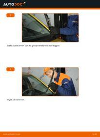 Slik bytter du Vindusviskere på 1.0 (SCP10_) Toyota Yaris p1