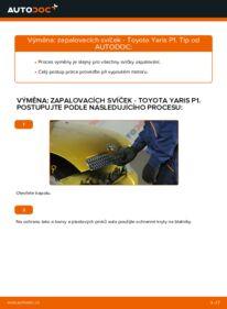 Jak provést výměnu: Zapalovaci svicka na 1.0 (SCP10_) Toyota Yaris p1