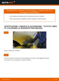 Come effettuare una sostituzione di Candela Di Accensione su 1.0 (SCP10_) Toyota Yaris p1