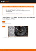 Skift Hjullejesæt TOYOTA YARIS: pdf gratis