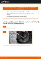 Jak vyměnit zadní ložisko kola na Toyota Yaris P1 – návod k výměně
