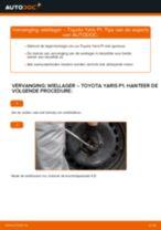 Ruitenwisserstangen vervangen TOYOTA YARIS: gratis pdf