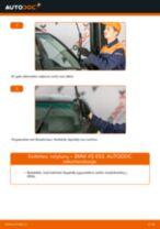 Kaip pakeisti BMW X5 E53 valytuvų: priekis - keitimo instrukcija
