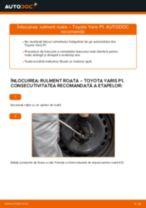 Montare Set rulment roata TOYOTA YARIS (SCP1_, NLP1_, NCP1_) - tutoriale pas cu pas