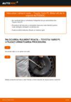 Schimbare Rulment roata TOYOTA YARIS: manual de intretinere si reparatii