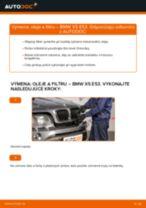 Ako vymeniť motorové oleje a filtre na BMW X5 E53 – návod na výmenu