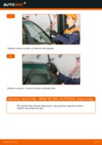 Jak vyměnit přední a zadní List stěrače BMW udělej si sám - online návody pdf