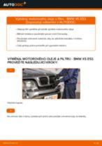 Jak vyměnit motorový olej a olejový filtr na BMW X5 E53 – návod k výměně